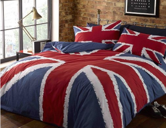 Rapport Rock n Roll Union Jack Quilt set, from Tesco Direct, £13.