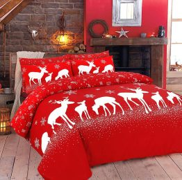 Best Christmas Bedding Presents_Christmas Duvet Cover Set