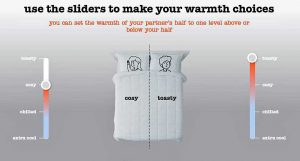 Nanu duvet different warmth levels