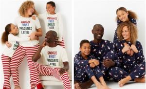 M&S family christmas pyjamas