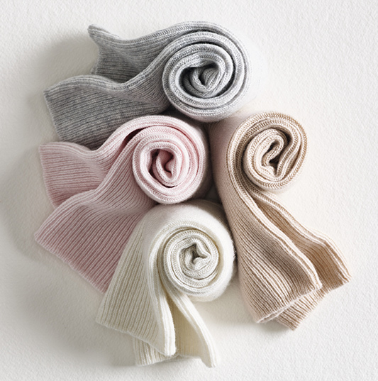 Cashmere Bed Socks The White Company