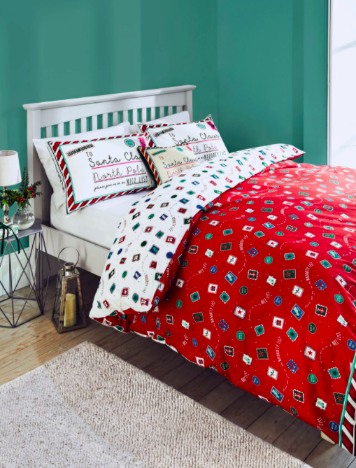 Letter to Santa Christmas Bedding at M&S