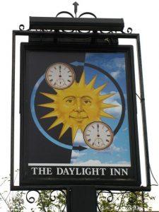 Daylight Inn Spring Clocks